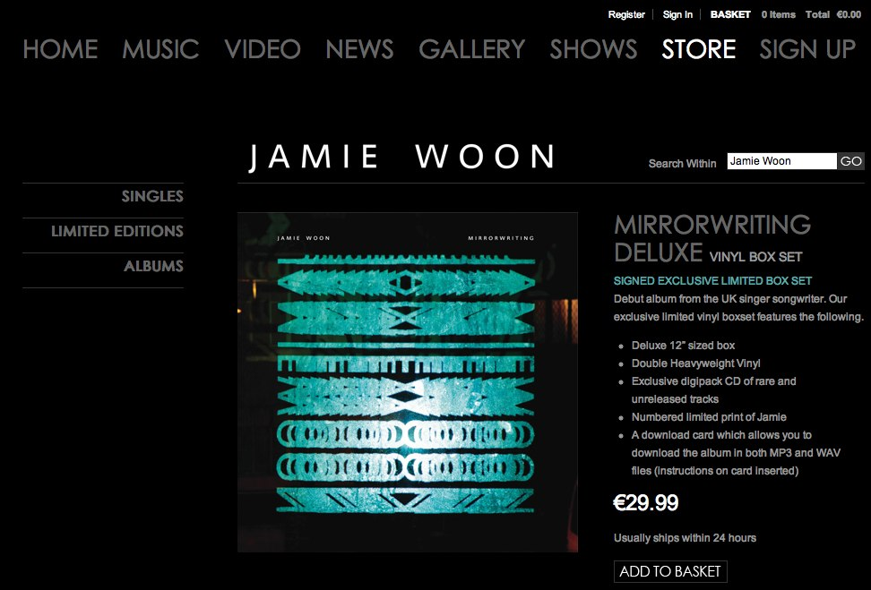 Jamie woon mirrorwriting download zip